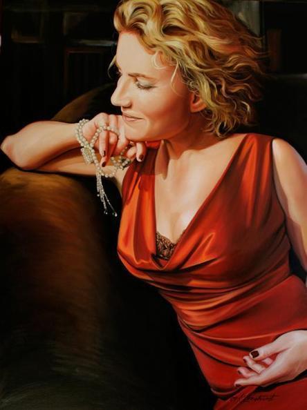 Figurative Paintings by Kathrin Longhurst | Cuded | Art Works | Scoop.it