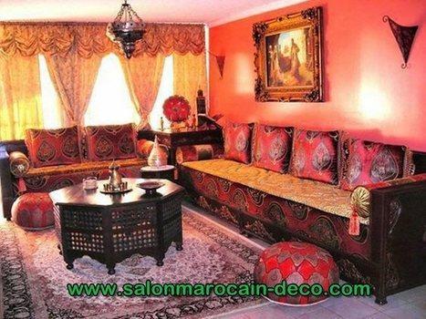 Salon Marocain décoration, Page 4 | Scoop.it