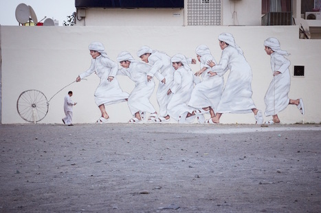 Ernest Zacharevic | Heart is a Lock, Music is the Key | Scoop.it