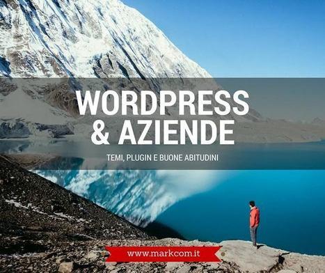 WordPress per le aziende: temi, plugin, buone abitudini | wordpressmania | Scoop.it