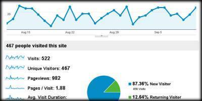 First Steps with Google Analytics | SEO Daily Dose | Scoop.it