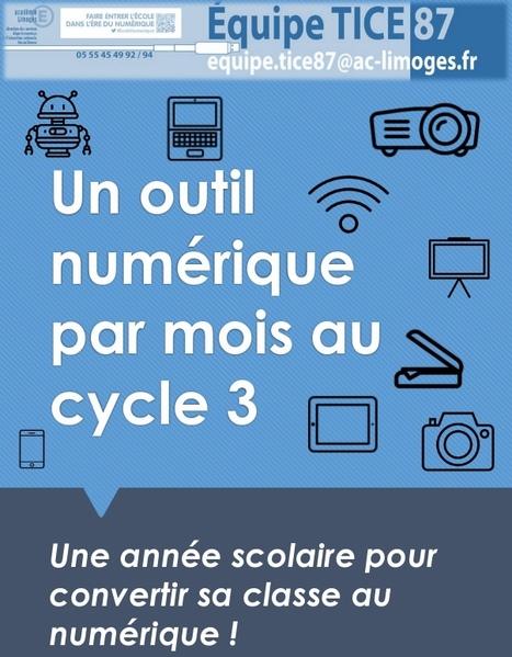 Un outil numérique par mois | TICE, Web 2.0, logiciels libres | Scoop.it