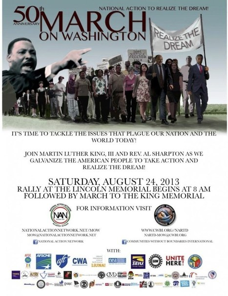 50th Anniversary of The March On Washington | Community Village Daily | Scoop.it