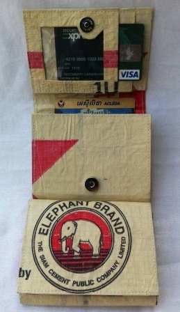 Eco-friendly Elephant Cement Wallets,handmade ethically by Disabled Home Based Workers | Eco-Friendly Messenger Bags By Disabled Home Based Workers. | Scoop.it