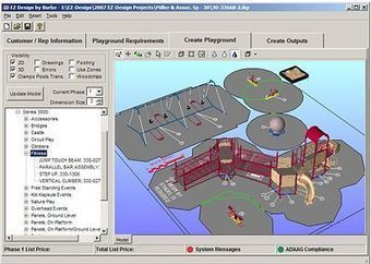 Playground design software cad for playground for Commercial design software