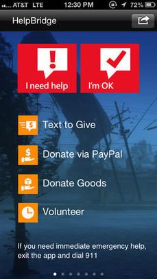 Microsoft doğal afetlerde yardım ve haber ulaştırmayı amaçlayan HelpBridge uygulamasını yayınladı   teknomoroNews   Scoop.it