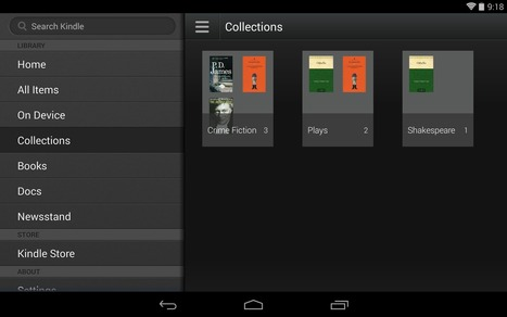 Kindle for Android app updated, adds Collections for improved organisation - Android Authority | Android Information and Apps | Scoop.it