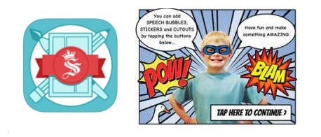 Seedling Comic Studio: Digital Storytelling App | Resources and ideas for the 21st Century Classroom | Scoop.it
