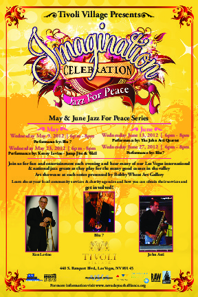 Tivoli Village Presents in Parnership With NYA: Imagination Celebration - Jazz For Peace Series - rictandag | Yellow Boat Social Entrepreneurism | Scoop.it