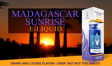 Halo Madagascar Sunrise Vape Juice Grape &