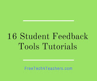 Student Feedback Tools Tutorials by Richard Byrne on YouTube   Languages, ICT, education   Scoop.it