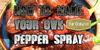 DIY: How to make your own pepper spray   person