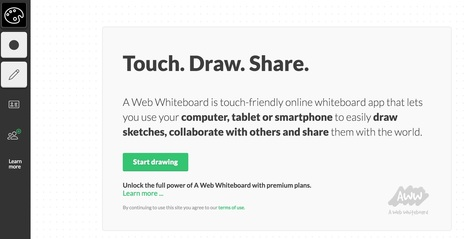 A web whiteboard | Web 2.0 and Thinking Skills | Scoop.it