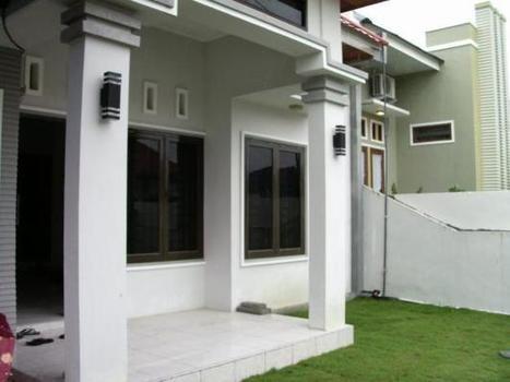 Teras Rumah Minimalis Modern Rumah Unik Minim