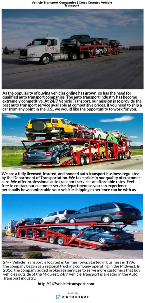 Best Auto Transport Companies >> Vehicle Transport Companies Cross Country Veh