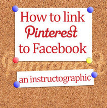 How to Link Pinterest and Facebook – an Instructographic | Business 2 Community | Pinterest plateforme social média | Scoop.it