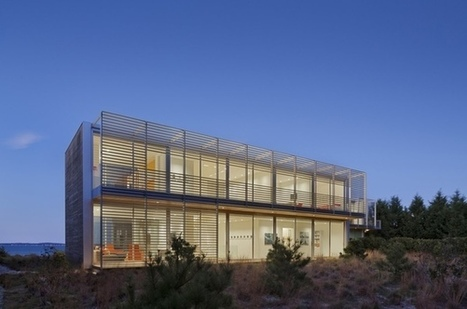 Bay House by Roger Ferris + Partners | sustainable architecture | Scoop.it
