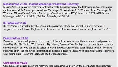 ​Create a USB Password Stealer to See How Secure Your Info Really Is | Bazaar | Scoop.it