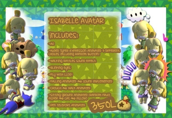 205 - [KD] Isabelle Avatar - Animal Crossing -