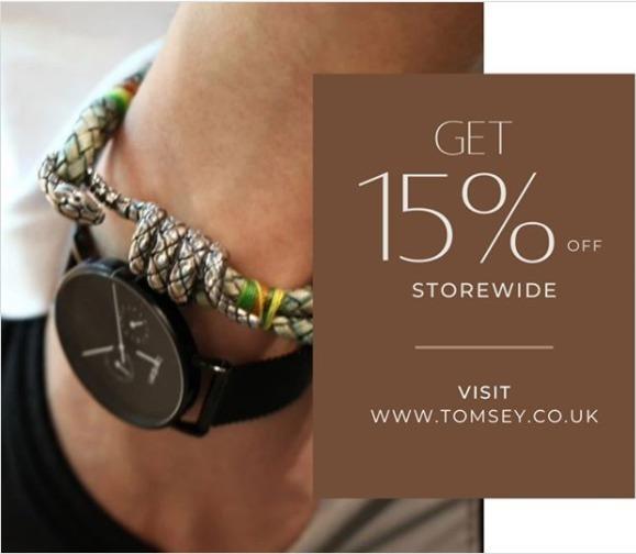 Order Men's Designer Jewellery in the UK - Tomsey | Tomsey Jewellery