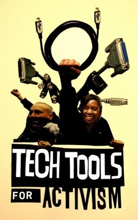 Tech Tools for Activism   Tech Tools for Activism: tools to help reclaim the future   Living Labs   Scoop.it