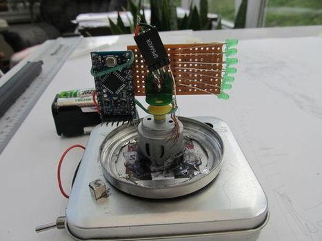 Digital Zoetrope | Arduino in the Classroom | Scoop.it