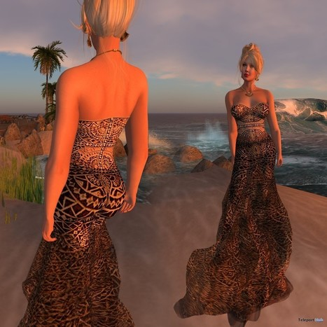 cafee06ba59 Mosaic Dress with Appliers Sydney City Group Gift by PARIS Metro Couture