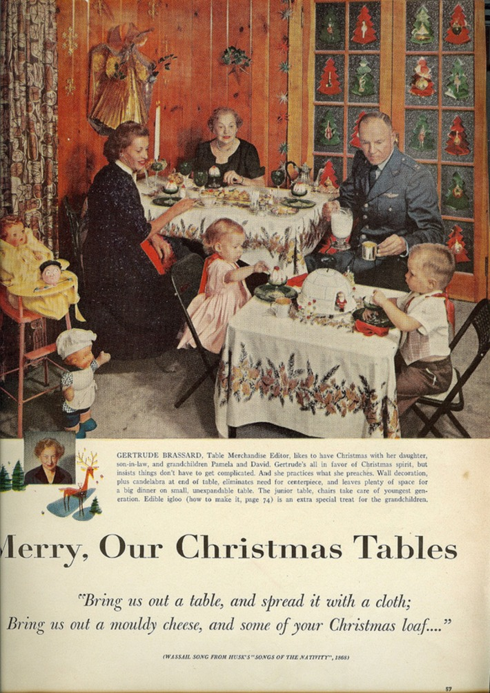 Holidays: The Kids' Table | You Call It Obsession & Obscure; I Call It Research & Important | Scoop.it