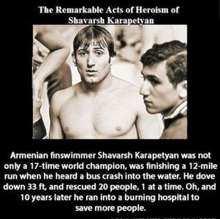 SPY EYE The Remarkable Acts of Heroism of Shavarsh Karapetyan: | All about water, the oceans, environmental issues | Scoop.it