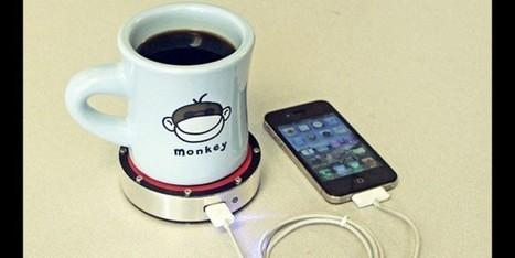 Recharger votre téléphone avec une tasse de café | Produits et entreprises innovantes | Scoop.it