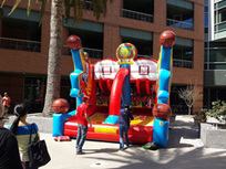 Inflatable Basketball Game At GooglePlex | Digital-News on Scoop.it today | Scoop.it