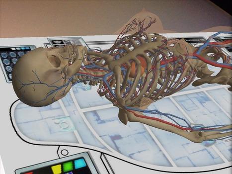 Una propuesta para usar el celular con tus alumnos . Anatomy 4D - ineveryCREA Argentina | Bitácora de una profesora digital | Scoop.it