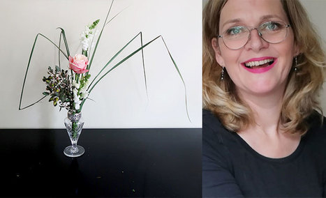 Easy Blooming flower arrangement • Ikebana Beautiful | TRENDBUBBLES | Scoop.it