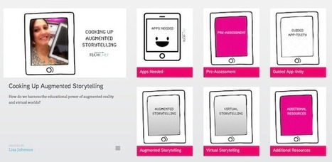 Cooking Up Augmented Storytelling | ipadinschool | Scoop.it