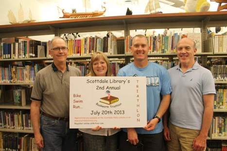 Book triathlon to benefit Scottdale Public Library | Cha-Ching | Scoop.it