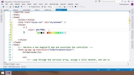 Visual Studio 2013 Web Editor Features - HTML5 (Channel 9) | Software innovations | Scoop.it