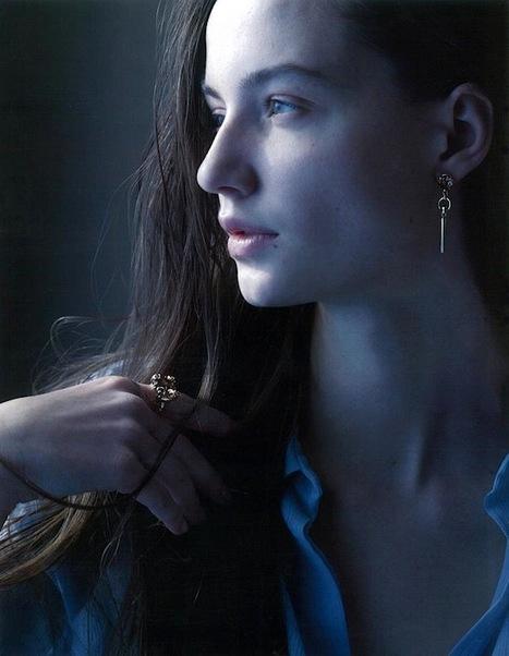 [editorial] Kristina Trofimuk (Nagorny Models) by Shunya Arai for Ginza Magazine | January 2013 | Fashion & more... | Scoop.it