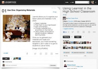 10 Ways To Use Learnist In The Classroom | Edudemic | Learning With Social Media Tools & Mobile | Scoop.it