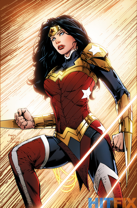 DC Comics Reveals Superman and Wonder Woman's New Costumes - SuperHeroHype | Comic Books Artists | Scoop.it