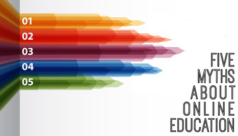 5 Myths of Online Education - Pulse | JRD's higher education future | Scoop.it