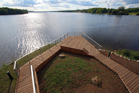 View Terrace and Pavilion, Latvia: In Harmony with the Environment | sustainable architecture | Scoop.it
