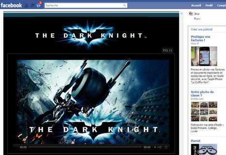 Influencia - Innovations - Facebook se transforme en salle de cinéma | Radio 2.0 (En & Fr) | Scoop.it