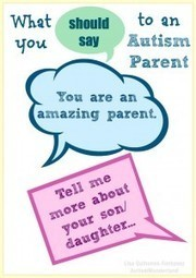 What To Say To An Autism Parent | To The Max | Social Skills & Autism | Scoop.it