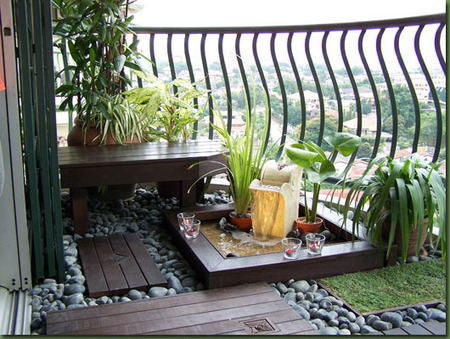 Balcony Garden Design Ideas Japanese Style Ga
