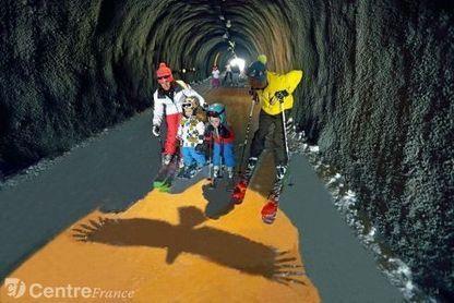 Un tunnel de La Plagne entièrement scénarisé pour les skieurs cet hiver | Ma petite entreprise touristique | Scoop.it