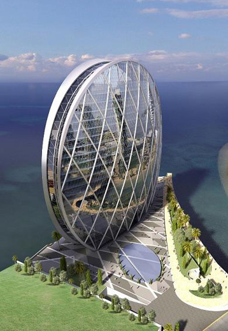 Aldar Hq The First Circular Building In The Mi