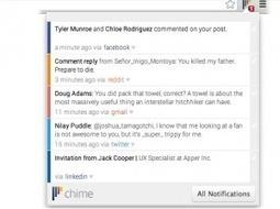 Chime. Outil de notification pour Chrome. | Les outils du Web 2.0 | Scoop.it
