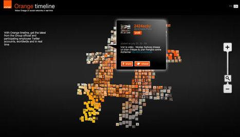 Orange agrège ses comptes Twitter et lance Timeline | L'information media sur internet | Scoop.it