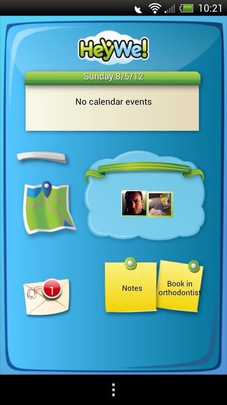 HeyWe! Family – an app to organize the family; group messaging, shared calendar & locator   Android Apps   Scoop.it