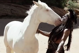 Horses steal show in Lone Ranger bloopers | Horses  around the world | Scoop.it